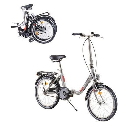 "Składany rower DHS Folder 2092 20"" - model 2019, Czarny"
