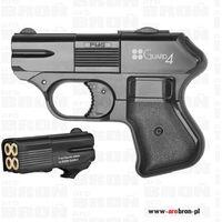 Pistolet hukowy gazowy GUARD-4 kal. 6mm short w zestawie nasadka do wystrzeliwania rac