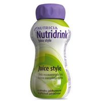 Nutridrink Juice Style smak jabłkowy 4 x 200ml