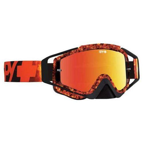 Gogle narciarskie klutch flare - smoke w/ red spectra (+clear anti fog w/ posts) Spy