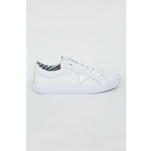 0382f4e4a8674 Guess Jeans - Trampki/tenisówki FLTGR2.FAB12.WHITE, kolor biały - foto