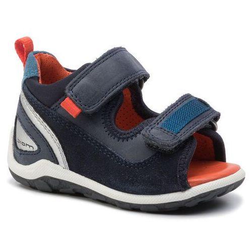 Sandały - ecco biom mini sandal 75482150769 night sky marki Ecco