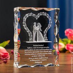 Pozostałe na ślub i wesele  Kryształy3D.pl