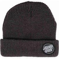 czapka zimowa SANTA CRUZ - Outline Dot Black (BLACK)