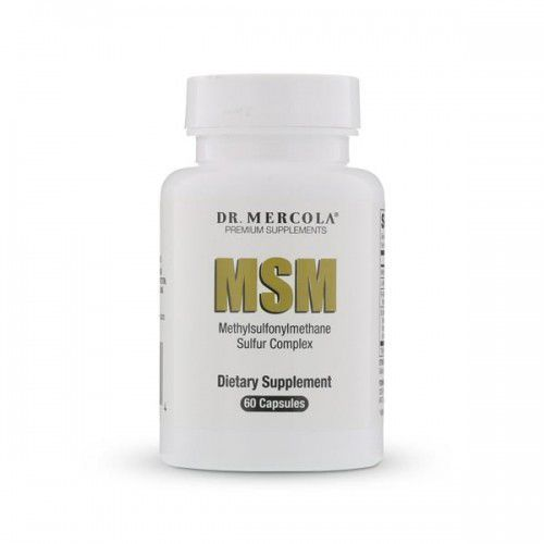 Siarka organiczna - MSM Sulfur Complex (dr Mercola) (60 kapsułek)