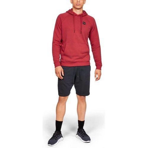 Under armour bluza z kapturem rival fleece po hoodie czerwona - czerwony (0192564246168)