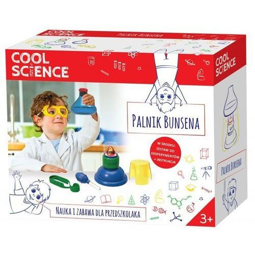 COOL SCIENCE Palnik Bunsena - TM Toys