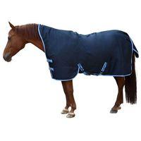 Kerbl Derka dla konia RugBe HighNeck, niebieska, 135 cm, 328665 (4018653934999)