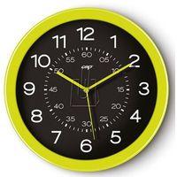 Zegar ścienny PBS Pro Gloss zielony, kolor Zegar