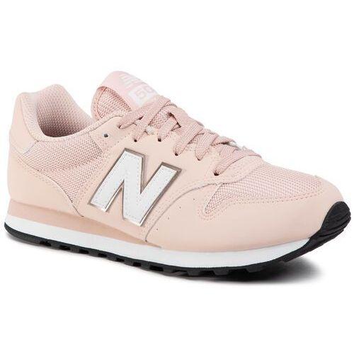 Sneakersy - gw500hhe różowy, New balance, 36-41.5