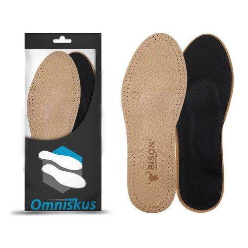 Wkładki do butów skórzane na płaskostopie wzdłużne oraz płaskostopie poprzeczne - R073 (5903021525222)