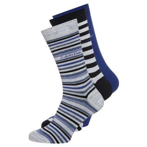 Calvin Klein Underwear 3 PACK Skarpety blue marble/true royal/navy mix, ECA179