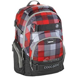 Coocazoo CarryLarry II plecak szkolny 44 cm / Red District - Red District