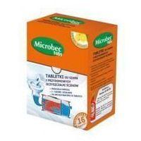 Bros Preparat do biodegradacji szamb i przydomowych oczyszczalni ścieków microbec ultra tabletki (16 sztuk) (5904517058620)