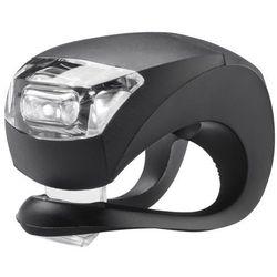 Knog Beetle Lampka rowerowa przednia białe LED czarny Lampki na baterie przednie