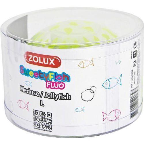 Zolux dekoracja akwarystyczna sweetyfish fluo meduza l - darmowa dostawa od 95 zł!