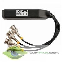 Virtualeye Transformator wideo hd 4-kanały z separacją atte atrvi-4-00-hs