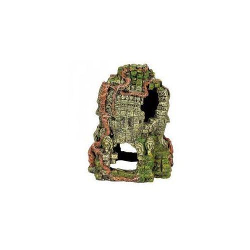 Zolux Wieża z 4 twarzami dekoracja do akwarium 17cm