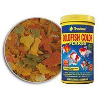 Tropical Goldfish Color pokarm płatkowy dla złotych rybek z zarodkami pszennymi 600ml/110g