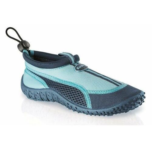 Buty do wody guamo 7495 czarno-niebieskie - czarny ||czarno-niebieski Fashy
