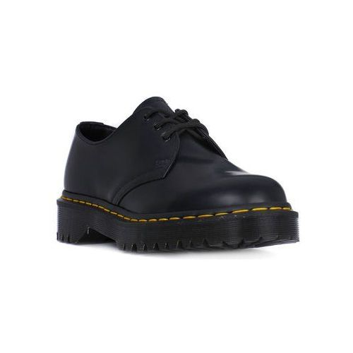 Mokasyny Dr Martens 1461 BEX BLACK SMOOTH, kolor czarny