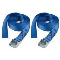Master Lock zestaw 2 x pas zaciskowy 2,5m x 25mm, niebieskie