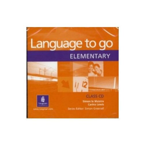Language to Go Elementary. CD do Podręcznika, Simon le Maistre