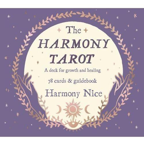 The Harmony Tarot. A deck for growth and healing - Nice Harmony - książka, oprawa miękka