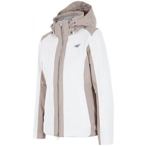 4F damska kurtka narciarska H4Z17 KUDN005 biały XS