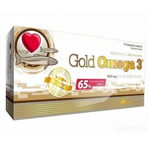 Kapsułki Olimp Gold Omega-3 60 kaps. Olej rybii EPA DHA 013065