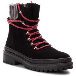 Trapery TOMMY HILFIGER - Modern Hiking Boot S FW0FW03048 Black 990, kolor czarny