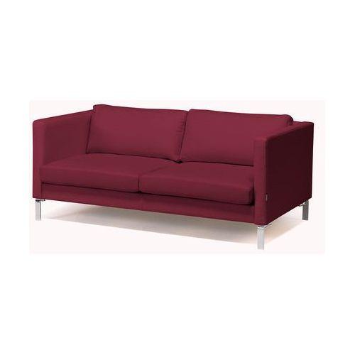 Sofa do poczekalni, 3 siedziska, tkanina w kolorze burgundy, 1437302