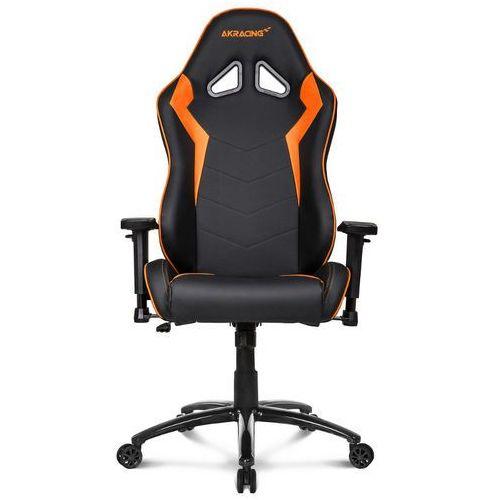 Akracing Fotel dla gracza gamingowy octane pomarańczowy 0713228143281