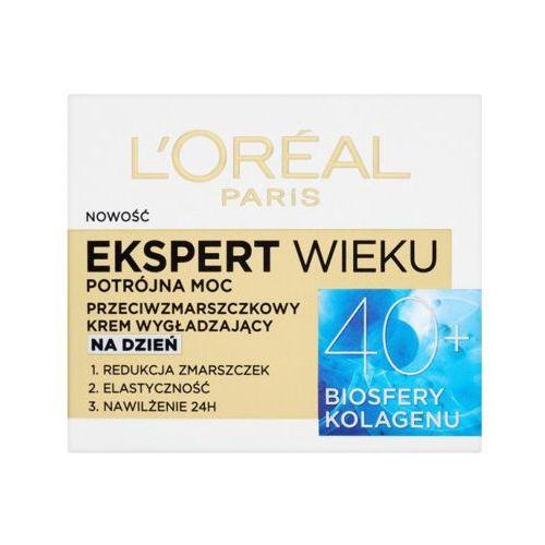 Loreal paris 50ml ekspert wieku 40+ przeciwzmarszczkowy krem wygładzający na dzień L'oréal paris