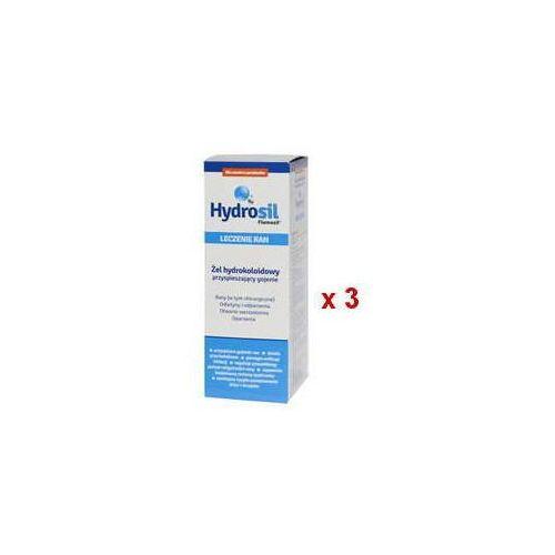 Hydrosil leczenie ran żel hydrokoloidowy 75g x 3 opakowania Sequoia sp. z o.o