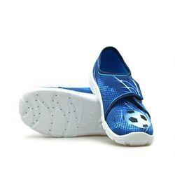 Kapcie dziecięce Befado 974Y312 Niebieskie piłka