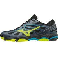 Mizuno buty do siatkówki męskie Wave Hurricane 3 Oblue Syellow Hawaiianoc 45.0