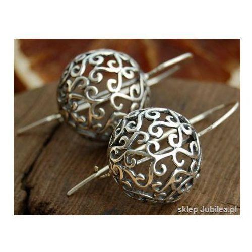 PÓŁKULE - srebrne kolczyki srebro 925