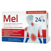 Tabletki Mel 7,5mg tabletki ulegające rozpuszczeniu w jamie ustnej 10 szt.