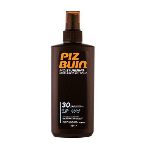 PIZ BUIN Moisturising Ultra Light Sun Spray SPF30 preparat do opalania ciała 200 ml dla kobiet - Najtaniej w sieci