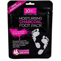 Xpel body care charcoal foot pack krem do stóp 1 szt dla kobiet