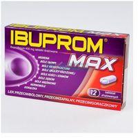 Tabletki Ibuprom Max tabl.400mg x 12