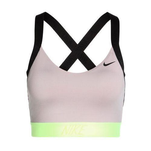 kod promocyjny uważaj na wyprzedaż ze zniżką Nike Performance PRO INDY LOGO BACK BRA Biustonosz sportowy particle  rose/black/volt glow/black