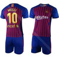 MESSI - BARCELONA - komplet piłkarski 2018/19 - koszulka + spodenki BS SPORT