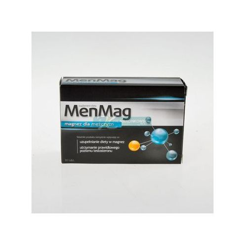 Tabletki MenMag 30 tabl.