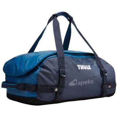 fd640eb708819 chasm 40l torba podróżna / plecak sport duffel s / granatowa - poseidon  marki Thule Apeks.pl