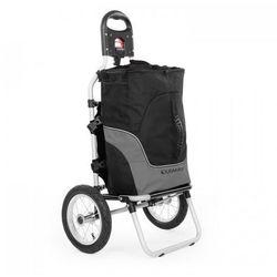Duramaxx carry grey przyczepka rowerowa do 20kg czarny/szary