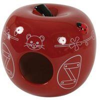 Zolux domek ceramiczny jabłko czerwony- rób zakupy i zbieraj punkty payback - darmowa wysyłka od 99 zł