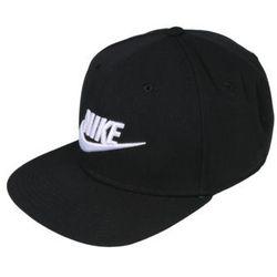 Nike sportswear czapka z daszkiem 'futura pro' czarny / biały