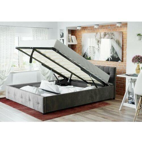łóżko Tapicerowane Do Sypialni 160x200 Sfg012a Welur Meblemwm